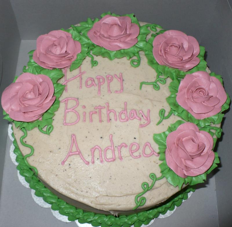 Butter Pecan Birthday Cake