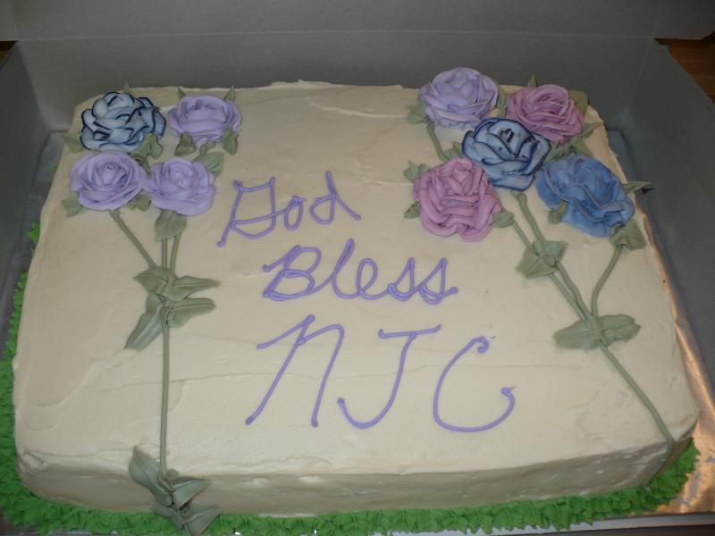 Lemon Sheet Cake for NJC